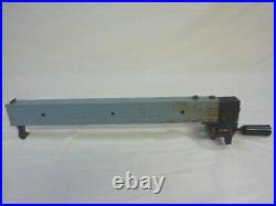 10 Delta Bench Table Saw Rip Fence and Locking Handle Model 36-540 Type 2