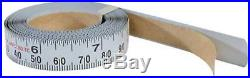 12Ft Long 1/2In Wide Right Tape Metric SAE Unit Steel Tape Table Saw Fence Rails