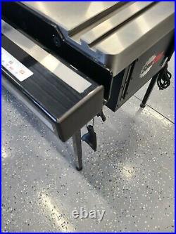 18 inch Sawstop Tablesaw Fence Rail Drawer. Fits Biesemeyer style fence rail