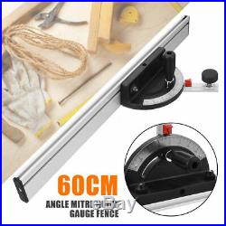1xTable Saw BandSaw Router Angle Miter Gauge Mitre Guide Fence Cut Woodworking