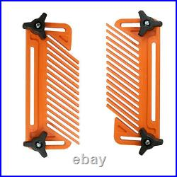 2PCS Featherboard Double Feather Board Router Woodworking Table Saw Guide Fence