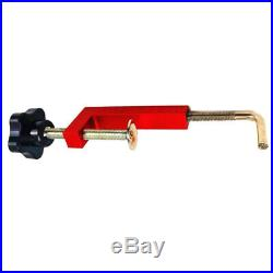 2Pcs Woodworking Fence Clamp for Table Saws Router Fences Tool Durable Red