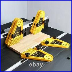 2x Featherboards Spring Loc Board for Table Saws and Router Tables Fence Tool