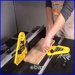 2x Featherboards Spring Loc Board for Table Saws and Router Tables Fence Tools