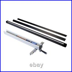 30in T Square Fence Rail System Table Saw Accessory Power Tool Aluminum Steel