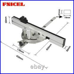 450mm Miter Gauge Table Saw Router Miter Gauge Sawing Assembly Ruler