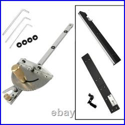 450mm Table Saw-Band Saw-Router Angle Miter Gauge Mitre Guide Fence Cut Aluminum