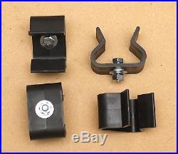4 Storage Brackets Ryobi BT3000 Table Saw. Fence Holder Clips with hardware