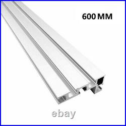 600mm Accessory Table Saw Miter Track Aluminium Alloy Fence Stop Durable Durable
