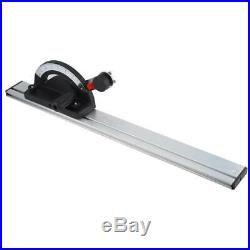 60cm Woodworking Table Saw BandSaw Router Angle Miter Gauge Guide Fence Cutting