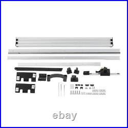 800mm Table Saw Fence Set with Fine Adjustment Knob Electric Circular Saw Tool