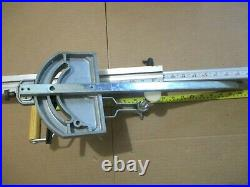 ACCU-MITER TABLE SAW MITER GAUGE With HOLD DOWN AND FENCE BY JDS COMPANY