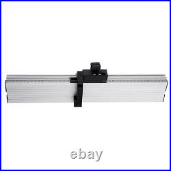 Aluminum Alloy Table Saw Miter Gauge Fence with Track Stop for Miter Gauge