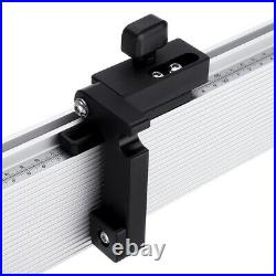 Aluminum Alloy Table Saw Mitra Gauge Fence With Track Stop per