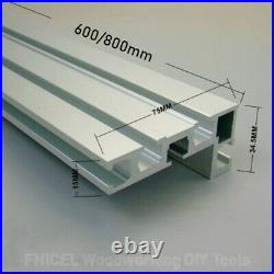 Angle Miter Gauge 400mm Aluminum Fence Sawing Assembly Ruler Woodworking Tools