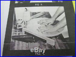 Auxiliary Molding, Miter, Shaper Fence System for Radial Arm Saws Craftsman