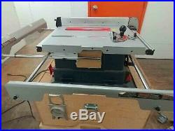 Bosch 4000 Table Saw with Extensions, Incra Miter Fence and Base