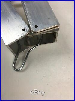 Brookstone aluminum taper jig / table saw fence 15 degree 24