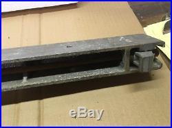 CRAFTSMAN Table Saw Gear Fence Md 113.29992 C-M22