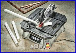 Carbon Table Saw Power to Cut Wood Tile Plastic Metal Aluminum Steel Rip Fence
