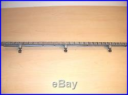 Craftsman 10 Table saw geared/toothed Main table fence rail 113. XXXX series