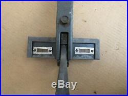 Craftsman 113. XXX 10 Table Saw Micro Adjust Cam Lock Rip Fence With 20'' Rail