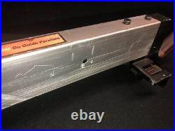 Craftsman 137 Benchtop Table Saw Quick Lock Cam Action Rip Fence Assy 137.248481
