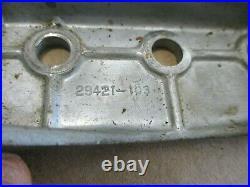 Craftsman 4-3/8 Jointer Planer Model 103.23340 Lower & Upper Slides 29421 29419