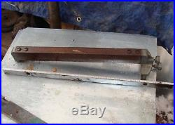 Craftsman/Dunlap 103 16 Table Saw Fence & 22 Chrome Guide with numbers