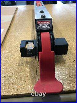 Craftsman Rip Fence With Quick Lock Cam Action For 10 Table Saw 137.248830