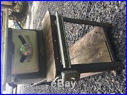 Craftsman TableSaw 103 FENCE TRACK KING SEELEY Vintage for 17 ALUMINUM RAIL