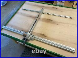 Craftsman Table Saw Aluminum Fence Align A Rip 2424 for 113 or 315 model