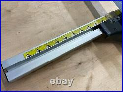 Craftsman Table Saw Aluminum Rip Fence & Guide Rails for 137.218740