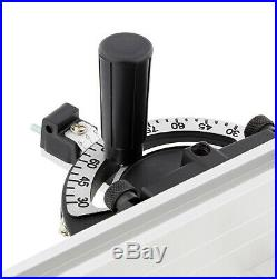DCT Table Saw Fence and Miter Gauge for Table Saw with 3/8 x 3/4 Inch Slots