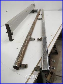 DELTA 10 Contractors saw II Model 36-630 Fence & rails assembly