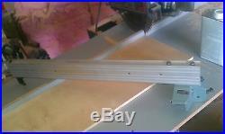 Delta 34-670 10 Table Saw Cam Lock Fence & Rails