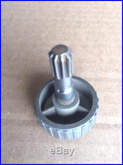 DELTA ROCKWELL HOMECRAFT 8 9 TABLE SAW FENCE HAND KNOB With GEARED PINION SHAFT