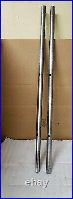 DELTA TABLE SAW JET LOCK FENCE RAILS 44 Long UNISAW 1-3/8 Diameter