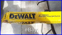 DeWalt DW7468 30 Inch Fence Rail System For DW746 Table Saw