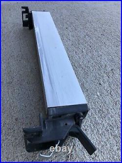 DeWalt Tablesaw DW744 OEM Lock Arm With Push Tool, Guide, Slide Fence