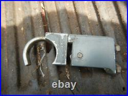 Delta Rockwell Oem Jet Lock Fence End Casting With Hook Assembly