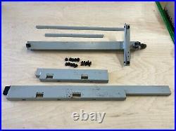 Delta ShopMaster 10 Table Saw model TS300 Rip Fence + Guide Rails