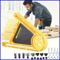 Double Featherboard Feather Board Kit Durable for Table Saw Router Fence To Best