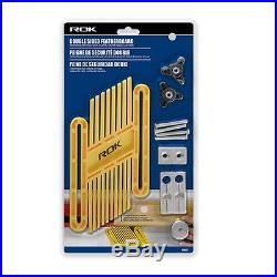 Double Sided Featherboard Kit Adjustable Anti-Kickback Fence Table Saw Accessory