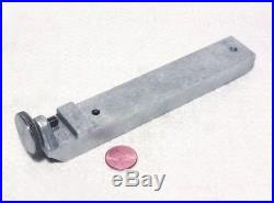 Emco Unimat 3 or DB SL Mini Lathe Table Saw Rip Fence With Knurled Screw