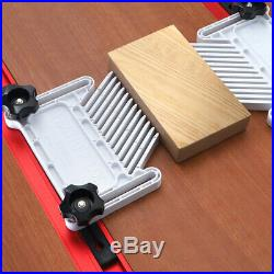 Feather Board for Trimmer Router Table Saw Fence Woodworking Aid Tool Set TN2F