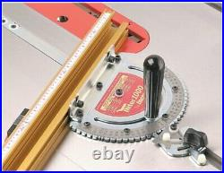 INCRA MITER1000/18T Miter Gauge with 18 Track Fence and Stop for Table Saws