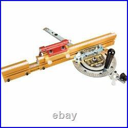 INCRA Miter1000/HD Woodworking Miter Gauge, Telescoping Fence & Flip Shop Stop