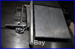 Inca Universal table saw miter gauge, fence, 2 extension tables