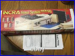Incra Fence System For Router Designed For Incra Jig Incremental Pos. System